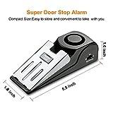 EMDMAK Door Stop Alarm with 120DB Siren Door Stop
