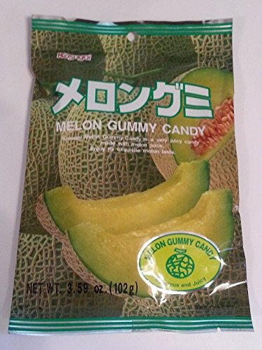 Kasugai Melon Gummy Candy - 2