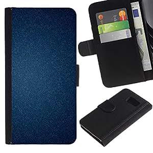 KingStore / Leather Etui en cuir / Samsung Galaxy S6 / Textura del papel pintado con clase