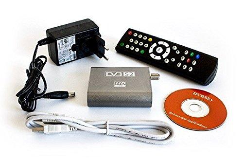 DVBSky S960 USB Box mit DVB-S2 Tuner, USB 2.0