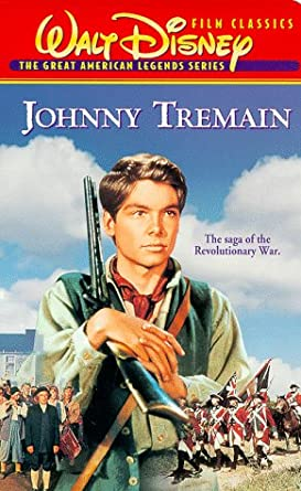 Amazon Johnny Tremain VHS Hal Stalmaster Luana Patten Jeff