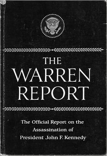 the warren report book