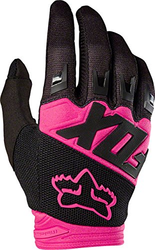 2018 Fox Racing Dirtpaw Race Gloves-Black/Pink-M by Fox Racing
