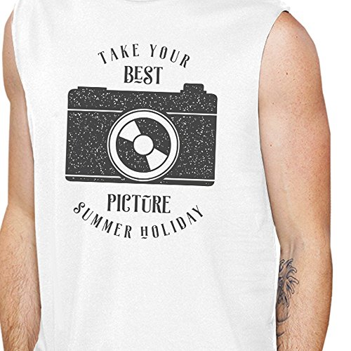 Your Manche Holiday White 365 Summer Taille Pull Best Unique Picture Homme Printing Sans Tqf4wxZ0