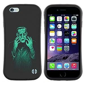 """Pulsar iFace Series Tpu silicona Carcasa Funda Case para Apple iPhone 6 / 6S (4.7 INCH) , Hombre Monster Creación Mad Genius Arte Ai Robot"""""""