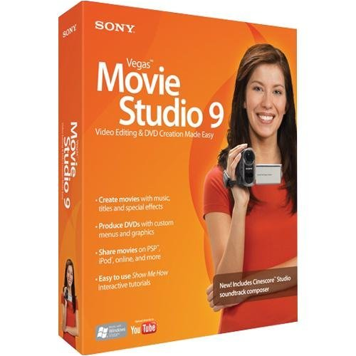 Sony Vegas Movie Studio 9  [OLD VERSION]
