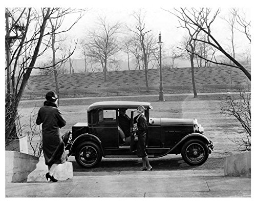 1927 Marmon 8 Victoria Coupe Factory Photo