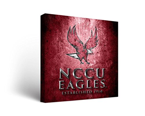 Victory Tailgate North Carolina Central University Eagles Canvas Wall Art Museum Design (18x24)