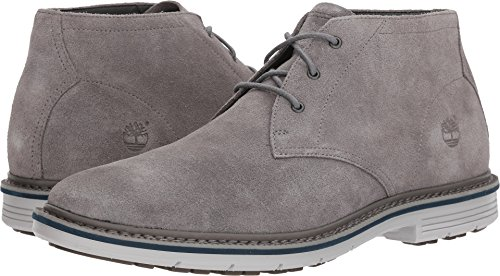 Steeple Lace Up Boots (Timberland Mens Naples Trail Chukka Steeple Grey 11.5 D - Medium)
