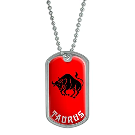 Amazon.com: Taurus el toro del zodiaco Horóscopo – Militar ...
