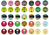Crazy Cups Tea Sampler for Keurig K-Cups, Gift Pack, 35 K-Cups
