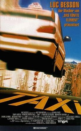 Amazon.com: Taxi [VHS]: Samy Naceri, Frédéric Diefenthal ...