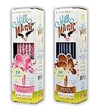 Milk Magic Flavoring Straws, 2-Pack Bundle