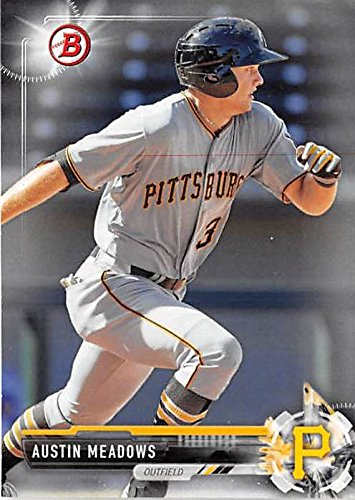 Austin Meadows Baseball Card Pittsburgh Pirates Of 2017 Topps