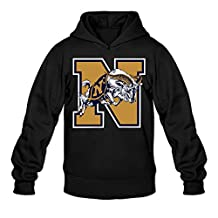 Rebecca Funny United States Naval Academy Men's Long Sleeve Sweater Black