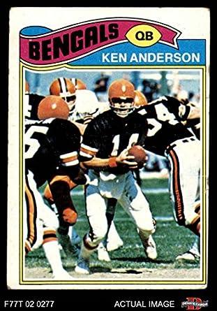 amazon com 1977 topps 235 ken anderson cincinnati bengals