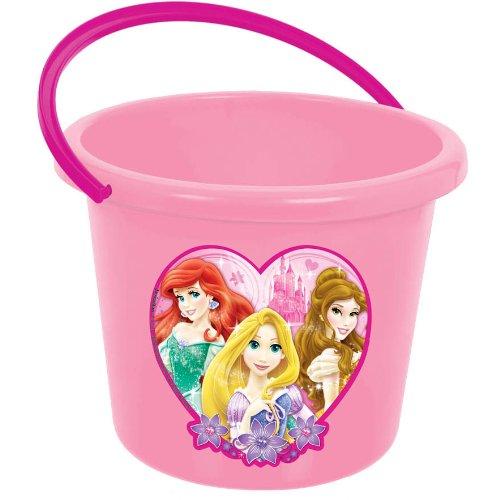 Hot Disney Princesses (Amscan Disney Princess Party Jumbo Favor Bucket, Light Pink/Hot Pink, 7