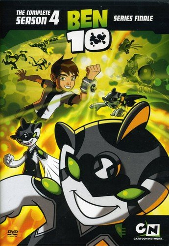 Ben 10: The Complete Season 4 Various Warner Bros. Home Video 442369710 Cartoons & Animation