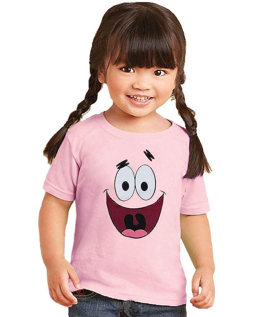 Animation Shops Spongebob Patrick Star Face Infant T-Shirt