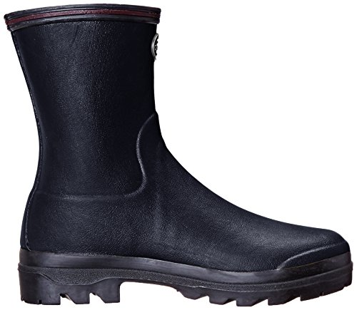 Le Chameau Fottøy Kvinners Giverny Lav Regn Boot Sort / Noir