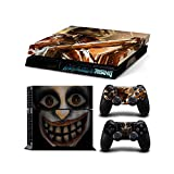 PlayStation 4 Protective Skin Decal Sticker Set - Metal Gear Rising:Revengeance