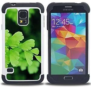- forest American green black/ H??brido 3in1 Deluxe Impreso duro Soft Alto Impacto caja de la armadura Defender - SHIMIN CAO - For Samsung Galaxy S5 I9600 G9009 G9008V
