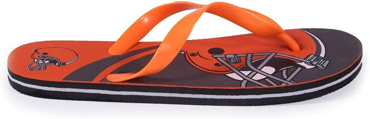 Happy Feet Mens and Womens Officially Licensed Big Logo Flip Flops
