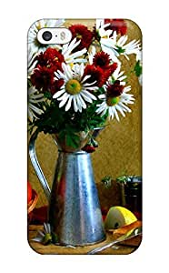 Iphone 5/5s Case Cover - Slim Fit Tpu Protector Shock Absorbent Case (still Life)