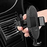 Wireless car Charger with air Vent Phone Holder, Qi Fast Charger 10w for Samsung S9+, S9, S8 Plus, Note 8 and Standard Charge for iPhone X, iPhone 8, iPhone 8 Plus, LG: V30, G6.