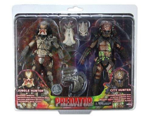 NECA Predator / Predator 2 Jungle Hunter & City Hunter Exclusive Action Figure (City Hunter Predator)