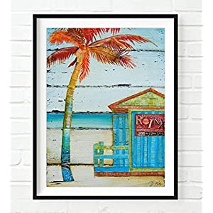 51EQA34sIfL._SS300_ Best Palm Tree Wall Art and Palm Tree Wall Decor For 2020