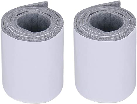 Brown White Grey Felt Glides Furniture Glides Metre Strong Self Adhesive 3mm Thick