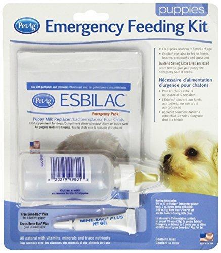 PetAg Esbilac Emergency Feeding Kit by PetAg (Feeding Emergency Kit)