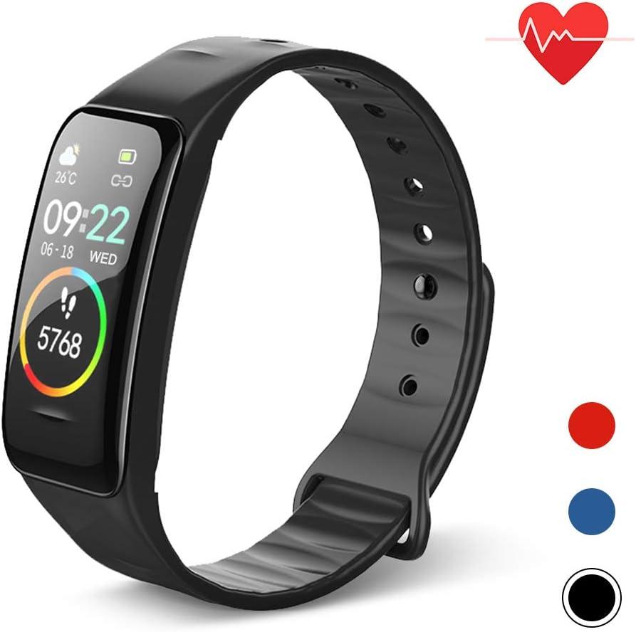 B084JK3J5X Blusea IP67 Smart Bracelet, Women Men Fitness Tracker Watch with Heart Rate Blood Pressure Blood Oxygen Step Counter Calorie Counter Sleep Monitoring 51EQAJ57F6L