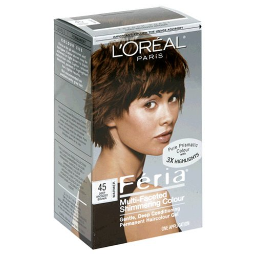 Feria French Roast #45 Haircolor, 1 ct