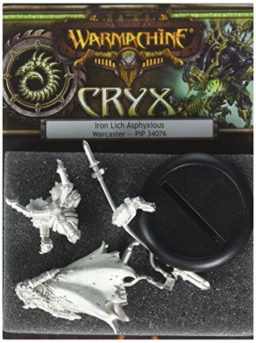 Privateer Press - Warmachine - Cryx: Iron Lich Ashpyxious (2010) Model Kit 3