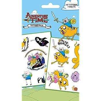 Amazon Com Adventure Time Jumbo Stickers Complete Set Of