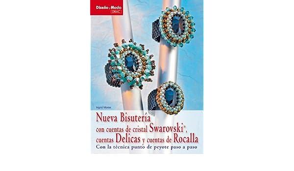 Nueva bisuteria con cuentas de cristal Swarovski, cuentas Delicas y cuentas de Rocalla / New Swarovski Crystal Beaded Jewelry, Delicas and Rocalla .