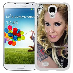 Beautiful Designed Cover Case With Lita Ford Girl Guitar Blonde Tattoo (2) For Samsung Galaxy S4 I9500 i337 M919 i545 r970 l720 Phone Case