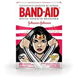 Band-Aid Brand Kids Adhesive Bandages for Minor Cuts & Scrapes, Wonder Woman, Assorted Sizes, 20 ct