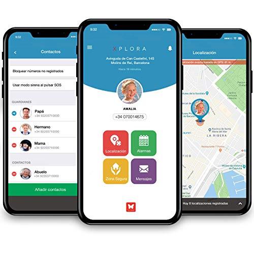 XPLORA Smartwatch para niños, SIM no incluida (AZUL): Amazon.es: Electrónica