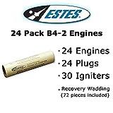 Estes B4-2 Model Rocket Engines (24 pack)