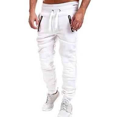691c5df03b Moda Pantalones para Hombre Jogging Fitness Deportivos Pantalón de Chándal  Slim Stretch Casuales Largos Jogger Pantalones  Amazon.es  Ropa y accesorios