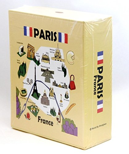 Paris France Embossed Photo Album 200 Photos/4x6