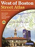 West of Boston Street Atlas, Delorme Publishing Company, 0899334067