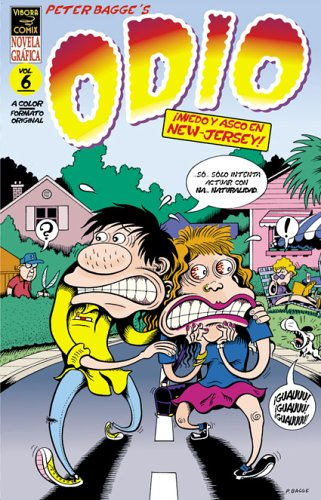 Read Online Odio 6: Miedo Y Asco En New Jersey / Hate 6: Fead and Loathing in New Jersey: Miedo Y Asco En New Jersey!/fear And Loathing in New Jersey! (Spanish Edition) PDF