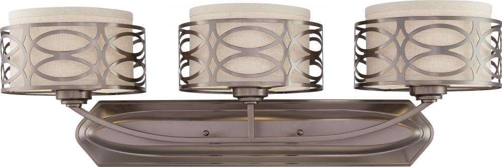 Nuvo Lighting 60 4723 Three Light Vanity, Hazel Bronze