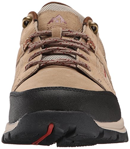 Rockport Mens Road And Trail Waterdicht Blauwscharige Regenschoen Taupe Suède