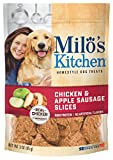 Cheap Milo'S Kitchen Chicken & Apple Sausage Slices Dog Treats, 3-Ounce (Pack Of 12)