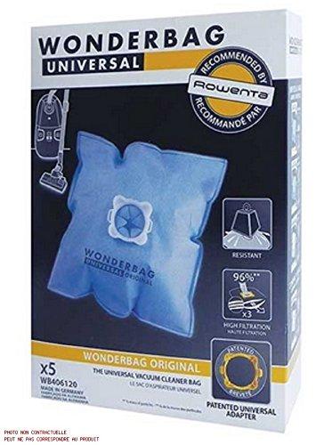 ROWENTA-Paquete de bolsas wonderbag/perfume x5 para aspiradora ROWENTA: Amazon.es: Hogar
